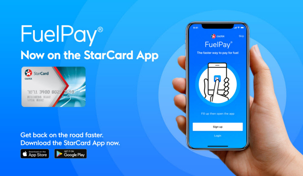 FuelPay for Caltex Fuel Card, StarCard