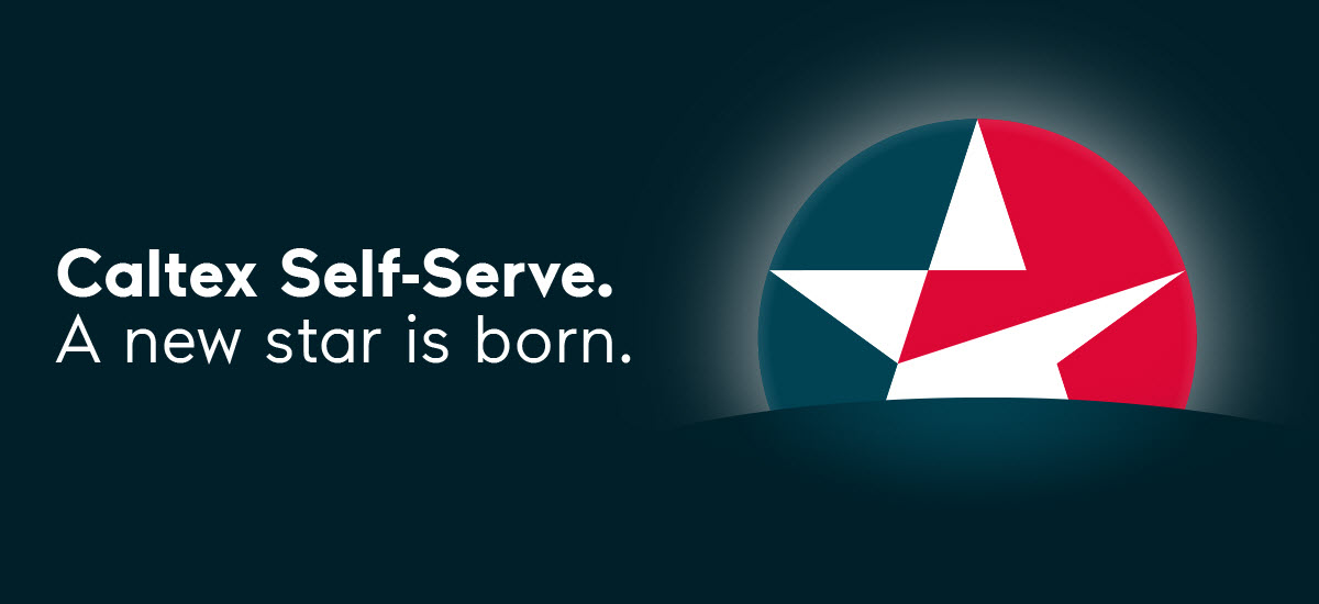 Caltex Self Serve Logo