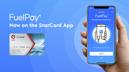 StarCard, Caltex's business fuel card, can now use FuelPay, paying for fuel at your phone