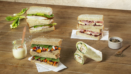 gourmet to go sandwiches