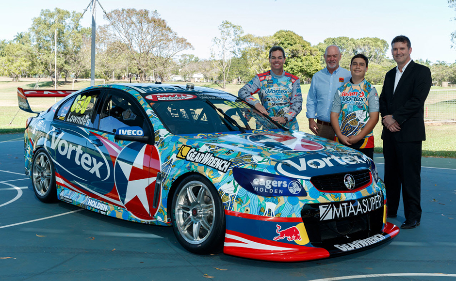 TeamVortex Indigenous livery